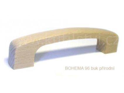 dřevěná úchytka BOHEMA 96 (Varianta BOHEMA 96 buk přírodní)