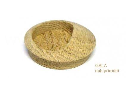 dřevěná úchytka GALA D zápustná (Varianta GALA D buk lakovaný)