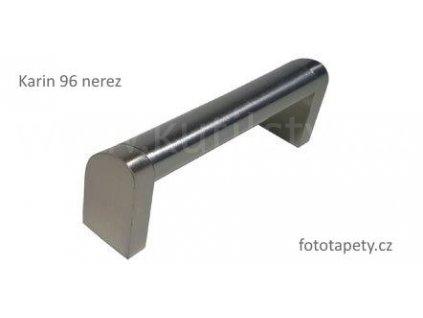 kovová nerezová úchytka KARIN 96,128,160,192,224,320,432,544 (Varianta KARIN 128 nerez)