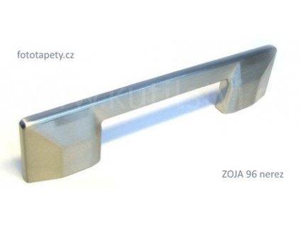 kovová nerezová úchytka ZOJA 96,160, doprodej (Varianta ZOJA 160 nerez)