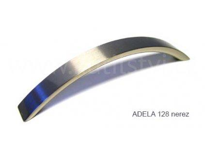 kovová úchytka ADELA 96,128 (Varianta ADELA 128 chrom lesklý)