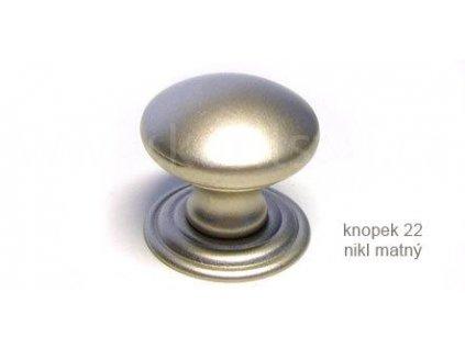 kovový knopek 22 (Varianta knopek 22 černý lesklý)