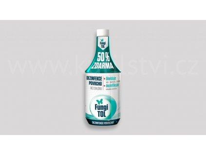 Fungitol 750ml rychlá kapalná desinfekce otěrem nebo postřikem