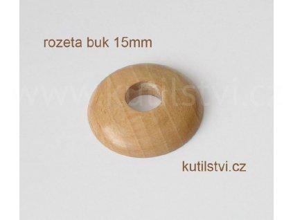 Dřevěná rozeta podlahová - materiál buk