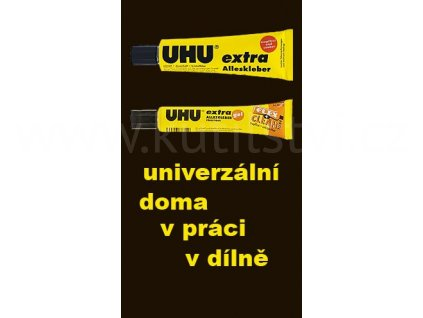 UHU Alleskleber extra - univerzální extra lepidlo, 31 ml