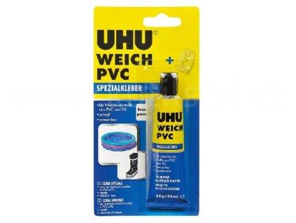 Lepidlo na měkčené plasty - UHU weich pvc, obsahuje záplatu, 30g