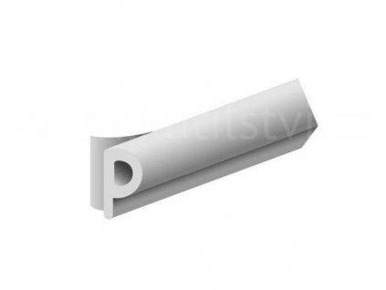 Samolepící těsnění oken a dveří, P profil - 9x5mm, materiál EPDM
