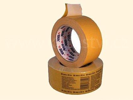 Kobercová obustranělepící páska textilní pro drsné povrchy