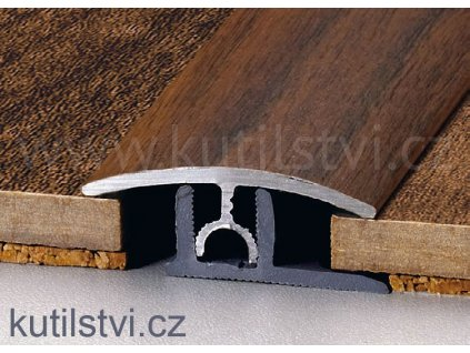 Přechodový podlahový profil PT Master, šíře 34mm, podlaha 7-15mm, výškový rozdíl do 6mm, doprodej