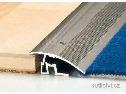 Vyrovnávací profil PS 400, š. 50mm, pro podlahu 7-17,5mm, výškový rozdíl 0-17,5mm, doprodej