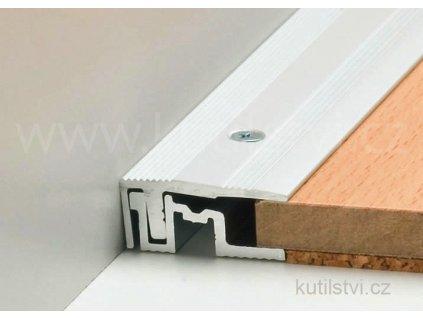 Ukončovací podlahový profil PS 400, šíře 28mm, pro podlahu 7-17,5mm