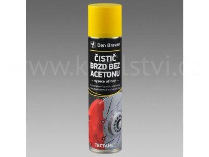 Čistič brzd bez acetonu, sprej 400 ml