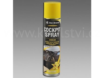 Cockpit spray VANILKA, sprej 400 ml