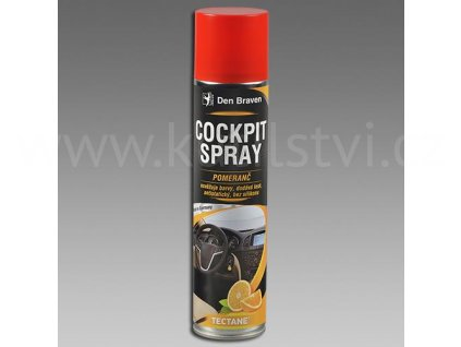 Cockpit spray POMERANČ, sprej 400 ml