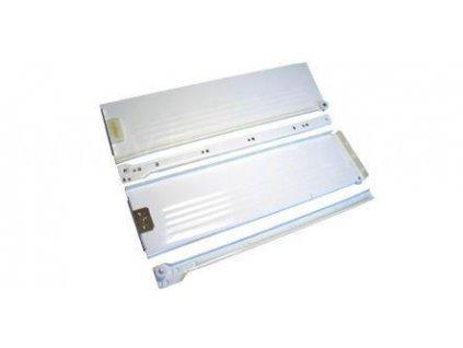 Částečný výsuv, 350/118, METAL BOX, bílý
