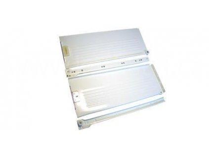 Částečný výsuv, 350/150, METAL BOX, bílý