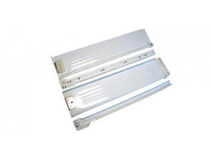 Částečný výsuv, 350/86, METAL BOX, bílý