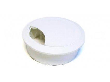 Průchodka kabelová, průměr 60 mm, plast