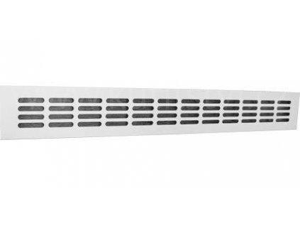 Hliníková větrací mřížka, ELOX, 600x80 mm