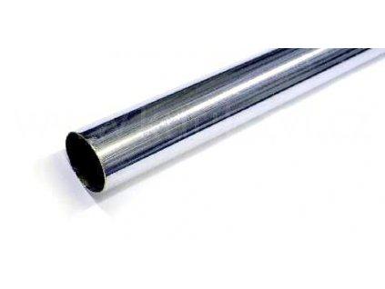 Šatní tyč, průměr 25 mm, chrom