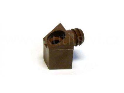 Element upevňovací plastový, délka 23 mm