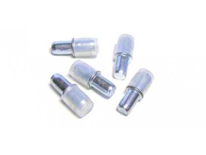 Čípková podpěrka, průměr 7/5 mm, sklo