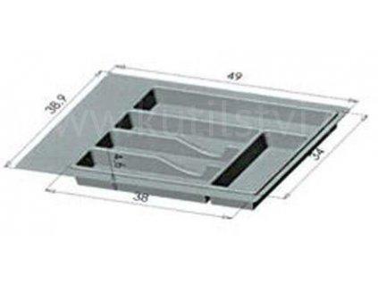 Plastový příborník, pětiprohlubňový 1, skladem 1 ks