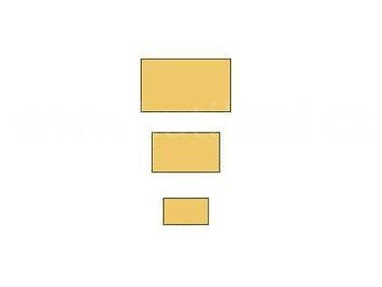 Dřevěné stavební hranolky, pro podkladové latě, stavební konstrukce, různé rozměry