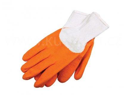 Latexové zahradní rukavice, pár
