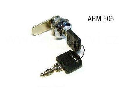 Lamelový zámek ARM 505, chrom lesklý