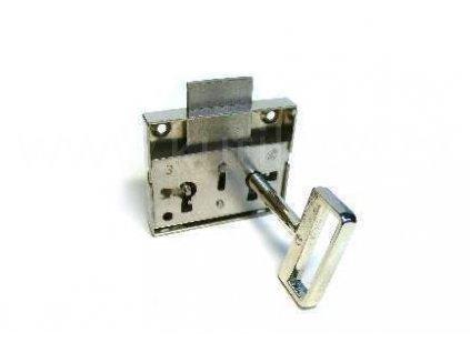 Zásuvkový zámek obyčejný, ROSTEX, výška 57 nebo 47mm