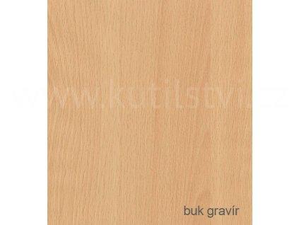 Profesionální renovační folie na dveře a nábytek - vzor Buk gravírovaný, doprodej!!! (Vzor Buk gravír, 1 metr)
