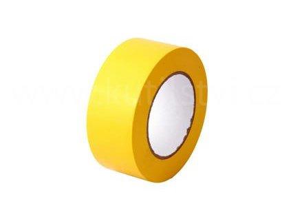 Trasovací páska žlutá, 50 mm x 0,15 mm x 50m