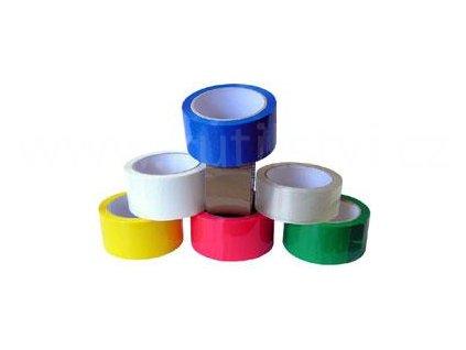 Balící páska k lepení kartonů