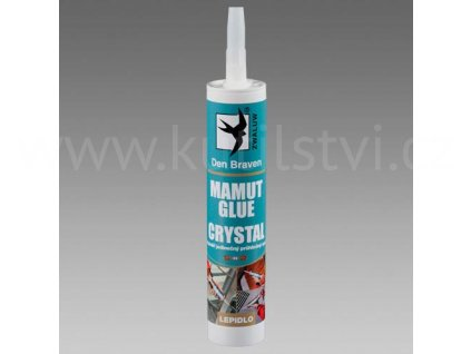 Lepidlo MAMUT crystal - transparentní