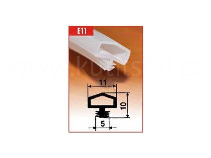 Silikonové těsnění pro obložkové zárubně - SE 11