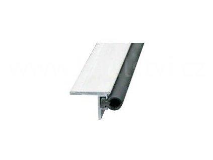 Hliníková lišta prahová těsnící, podlahová T52