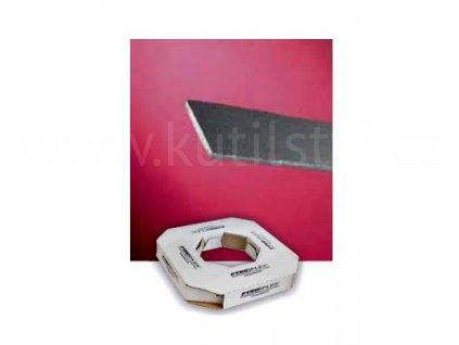Protipožární zpěňující páska Pyroplex, návin 25m, 10x2,5mm, černá