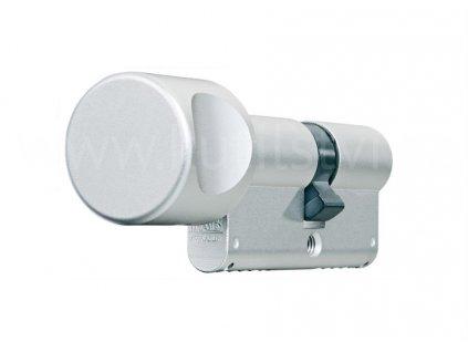 Oboustranná bezpečnostní cylindrická vložka s knoflíkem FAB 2002BDKNs