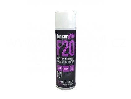TensorGrip F20 - Rychleschnoucí lepidlo na pěnové materiály a čalounění, 500ml, spray, doprodej