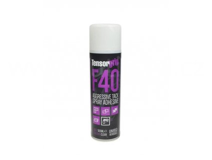 TensorGrip F40 - Rychleschnoucí lepidlo pro náročné čalounické aplikace, 500 ml, spray