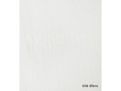 Profesionální renovační folie na dveře a nábytek - vzor Bílé dřevo (Vzor Bílé dřevo, 1 metr)