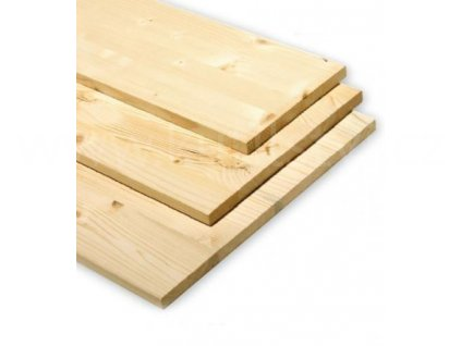 Dřevěná spárovka smrková, různé rozměry