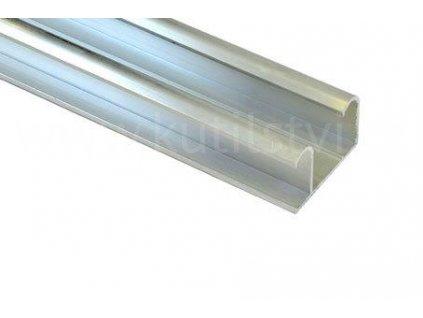 Horní pojezdová lišta, profil 46 x 29mm, nosnost do 50kg
