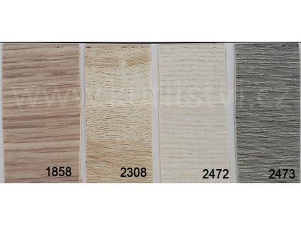 PVC soklová lišta samolepící - PVC lemovka - roh 30x25mm - imitace dřeva