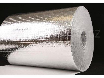 Reflexní, izolační pás za radiátory a pro povrchovou úpravu tepelných izolací