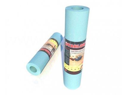 Podožka STARLON s děrováním pro podlahové vytápění, 100x1,6mm, návin 20m