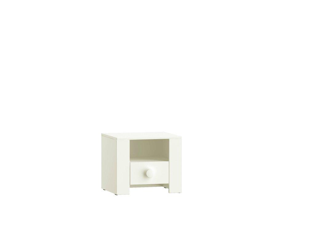 Dubi White Nočný stolík