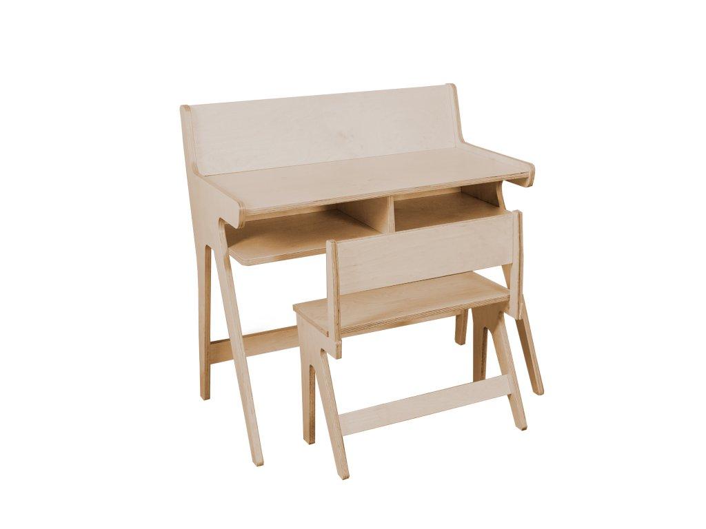 Detský stolček s lavičkou Lulu