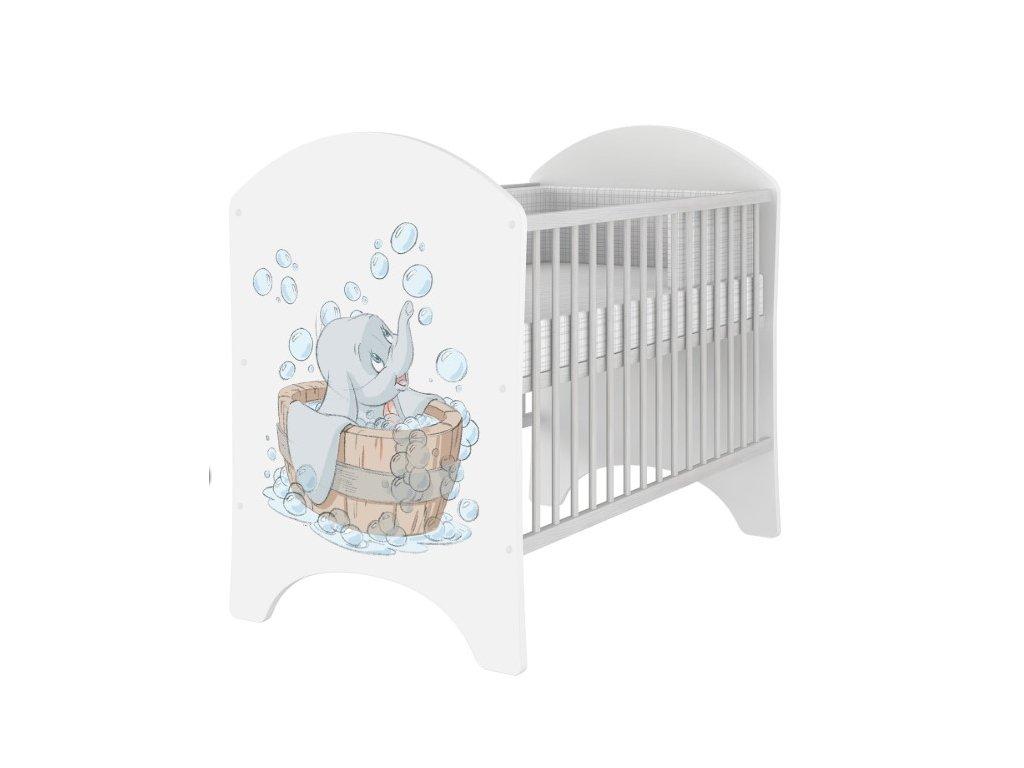 Detská postieľka Dumbo